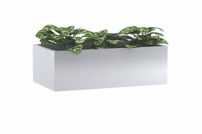 Office Planter box for Lateral/Sliding Door Filing Cabinets White 450D