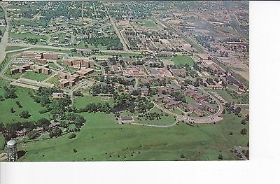 Aerial View: US Veterans Administration Hospital, Downey Illinois