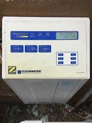 Clearwater Salt Chlorinator With Self Cleaning Cell