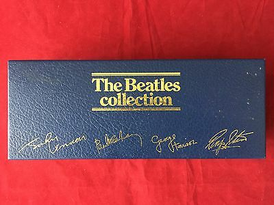 Rare Find BEATLES Empty Cassette Box Blue Parlophone Sized for 13 tapes Tolex