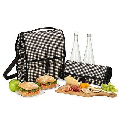 NEW Packit Freezable Gingham Picnic Bag