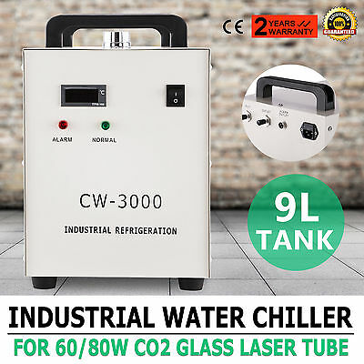 Cw-3000 Industrial Water Chiller Thermolysis Type Spindle Cooling Cnc/ Laser
