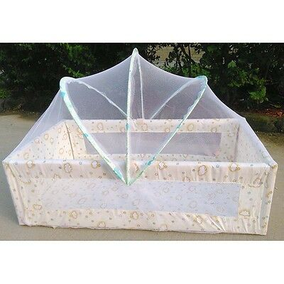Baby Cradle Bed Mosquito Net Baby Safe Comfortable Sleep Arched Bed Net