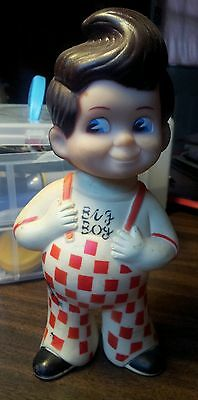 "Shoney's 1950's Big Boy ""piggy bank"" 8.5"" tall"