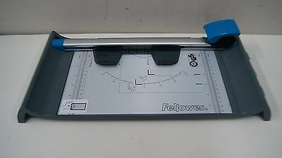 Fellowes Neutron Plus A4 Paper Cutter Rotary Trimmer & 4 Safety Blades