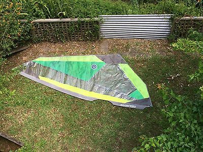 Neil Pryde Combat Wave 3.5 Windsurfing Sail Second Hand but Good Condition