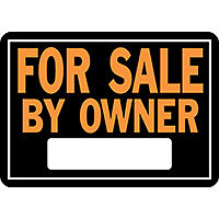 SIGN FOR SALE BY OWNER ALUM    per 12 EA
