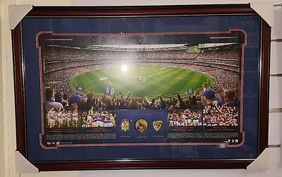 Western Bulldogs The Road To Glory 2016 Premiers Framed Panoramic