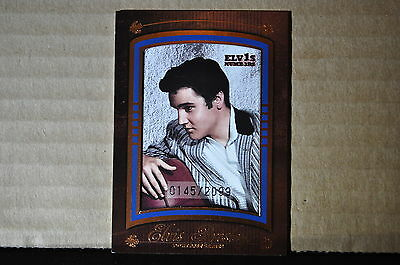 Elvis Presley Press Pass Trading Card 2008 By the Numbers Portrait PS-2 /2099