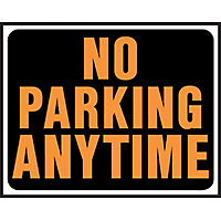 SIGN NO PARKING ANYTIME JUMBO  per 5 EA