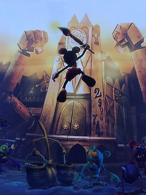 Disney - Epic Mickey - Animation cel & Game Guide!