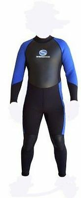 Sherwood Mens 3mm Superstretch Steamer Wetsuit - Extra Small Only