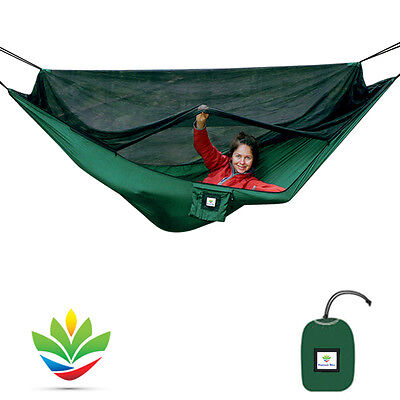 No-See-Um No More Hammock Bliss - The Ultimate In Bug Free Hammock Tent Camping