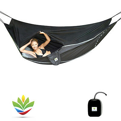 Hammock Bliss Sky Bed Bug Free- Super Comfortable Insect Free Camping Hammock