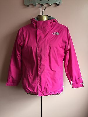 Girls The North Face Hyvent Jacket Size 14-16 Years Old