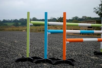 Pony 3 Pairs training stands,poles & cups,by Bristo ShowJumps(BOG) KEYHOLE TRACK