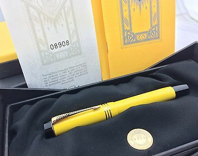 Parker Duofold Mandarin Yellow Limited Edition Fountain Pen-New in Box