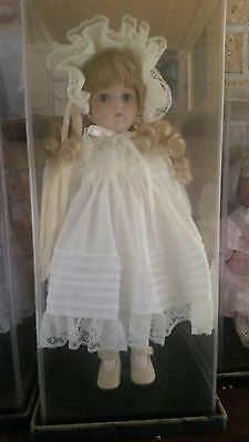 4 Heritage Heirloom Collection Porcelain Dolls