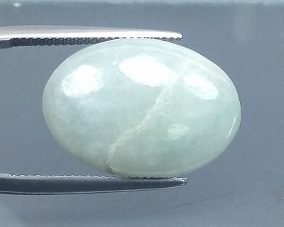 18.35Cts  Top Gorgeous Natural  Green Jade  Gems Oval  (3632)