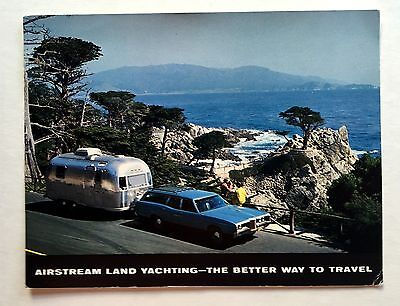 1960s Airstream Trailers Land Yachting Postcard Oversized