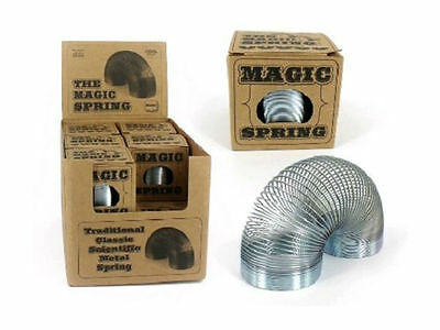 Metal Slinky Spring Retro Expandable Boxed - Brand New