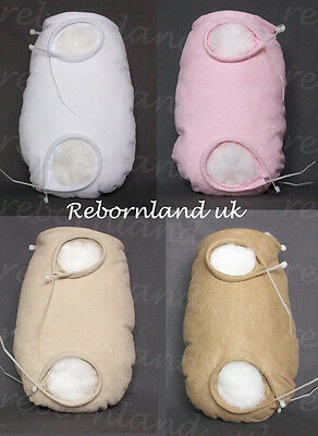Doe Suede Body - Jointless (Open Limbs) For Full Limbed Reborn Doll