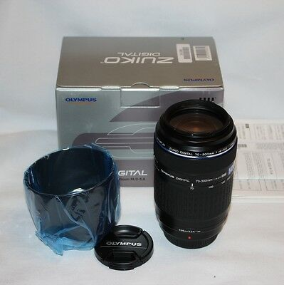 Olympus Zuiko Digital 70-300mm f/4.0-5.6 ED Lens four thirds fit (NOT micro 4/3)