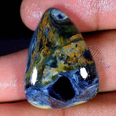 38.30Cts. 100% Natural Chatoyant Pietersite Royal quality Cabochon Gemstones