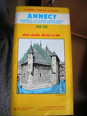 Plan-Guide D' Annecy  1987