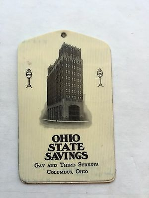 Vintage 1929 Ohio State Savings Notepad and Calendar