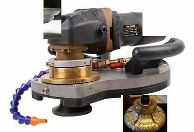 "ECOEDGE & Wet Polisher Granite Concrete F30 1 1/4"" Ogee Router Bit Marble stone"