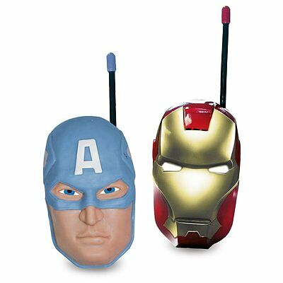 Avengers Super Hero Shaped Mask Indoor Outdoor Walkie Talkie High Quality Signal