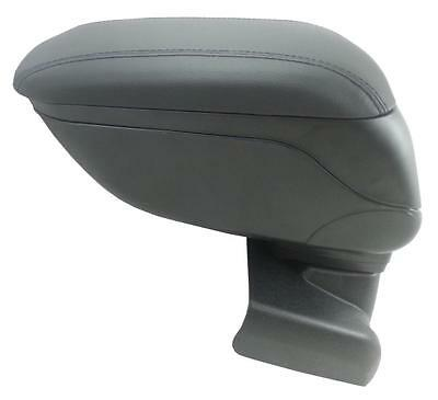 Black Leather Padded Armrest Center Specific Fit For Ford Focus Mk3 2011+