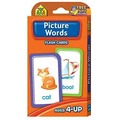 NEW Alphabet Picture Flash Cards Baby First Words Learning Child Card Letters