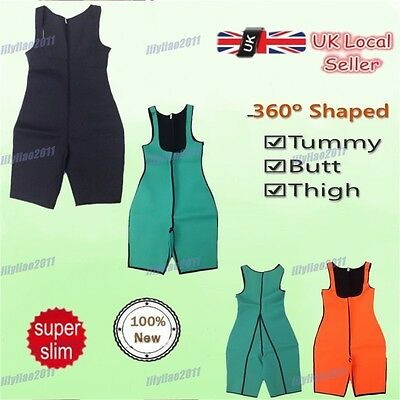 HOT Slimming Neoprene Tummy Trimmer Hot Sweat Suits Body Shaper For Weight Loss
