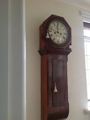 Lovely antique wall clock