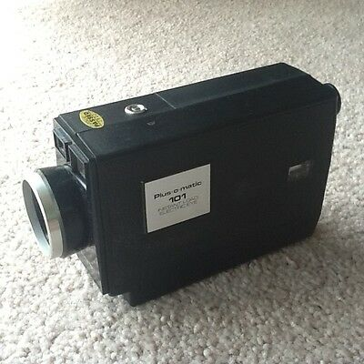 Vintage Movie Camera - Plus-o-Matic 101 Instant Load Electric Eye