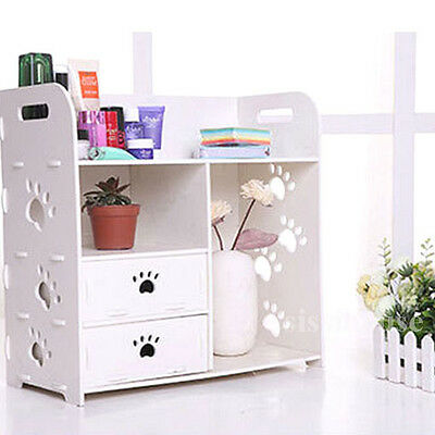 Makeup Jewellery Organizer Cosmetic Storage Box Cabinet Desk Drawers Holder Case