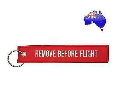 Remove Before Flight Tag - Aircraft, Keychain or Luggage