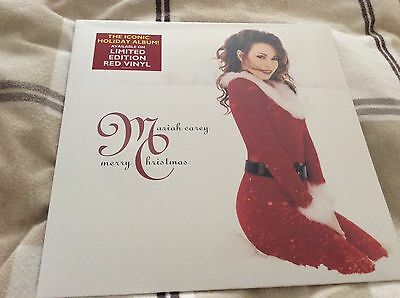 Mariah Carey Merry Christmas Limited Edition EU Red Vinyl LP **NEW & SEALED**