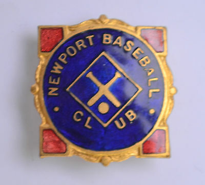 Newport Baseball Club Melbourne VIC 1928-35 Members Badge Pin Australian STOKES