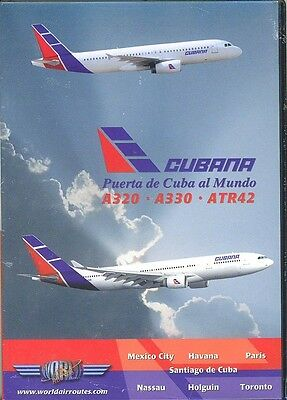 Just Planes Cubana A320,A330 & ATR42 DVD, NEW AND SEALED. Perfect Christmas Gift