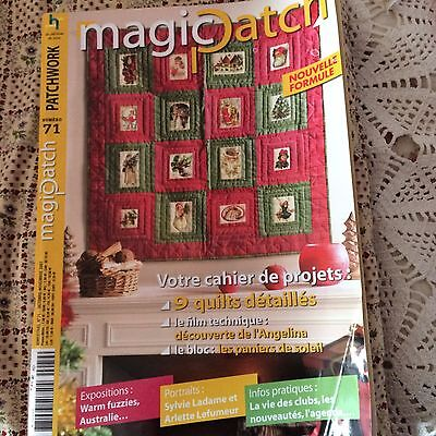 patchwork ,magic patch N°71avec gabarits ,complet TBE