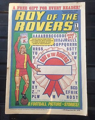 Roy Of The Rovers Comic Issue 2 1976