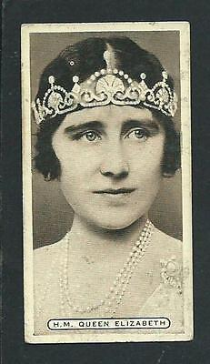 """EMPIRE PERSONALITIES"" H.M. QUEEN ELIZABETH Card no.2 issued by ARDATH 1937"