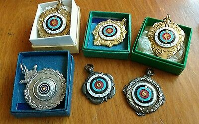 1960s Sussex County Archery Medals