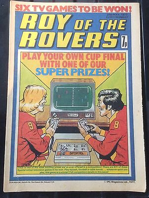 Roy Of The Rovers Comics 3  from 1977