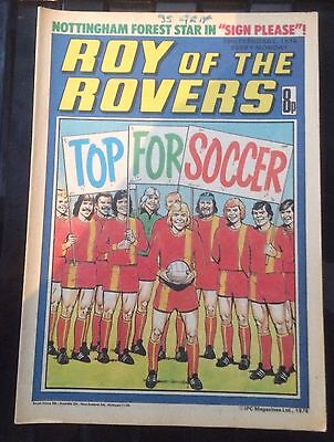 Roy Of The Rovers Comics 4 from 1978