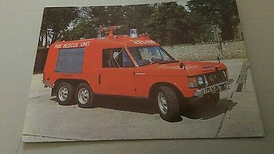 #FSNBF postcard of commando rapid intervention fire vehicle