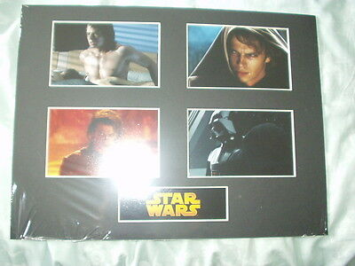 Mounted Picture Display - Star Wars Revenge of the Sith - MINT